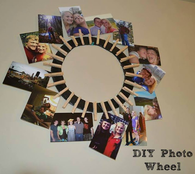 DIY Photo Wheel Craft