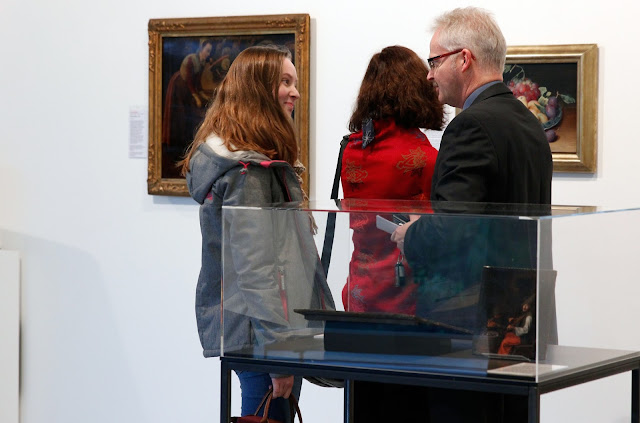 "Eröffnung der Ausstellung ""Sammlung O."""