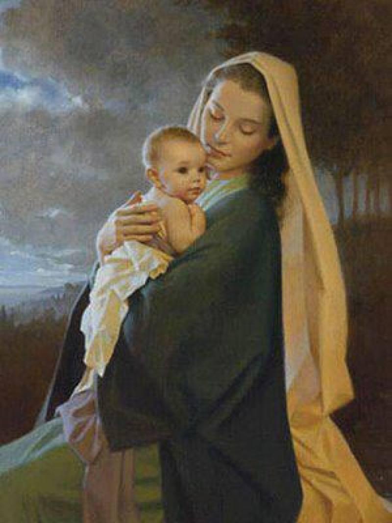 Muitas vezes Viver Santamente: Nossa Senhora, Mãe de Jesus e Nossa Super Mãezona VT59