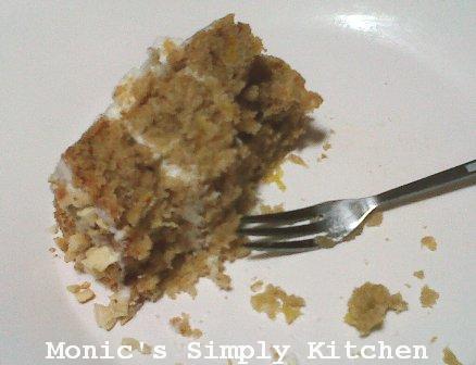 hasil resep humingbird cake