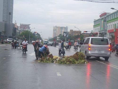 thung rac cong cong