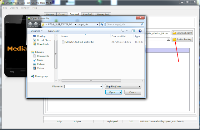 scatter file mtk6752 lenovo p70-a