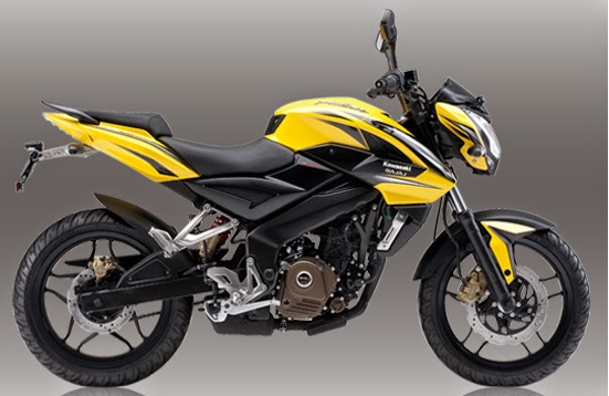 Pulsar 200NS Yellow