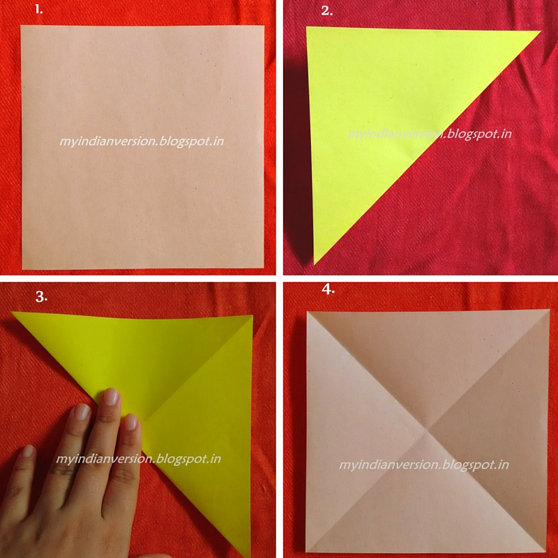 how to make a small origami box step by step