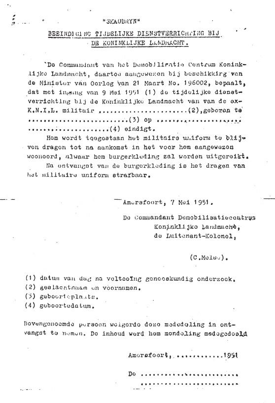 ontslagbrief ziekenhuis voorbeeld Julie, een Indisch meisje & Boyolali: 1951   Julie en Anton kunnen  ontslagbrief ziekenhuis voorbeeld