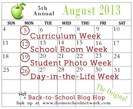 not back-to-school blog hop 2013