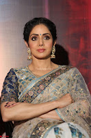 Sri Devi in designer saree stunning beauty at the launch of MOM movie Trailer~  Exclusive 077.JPG