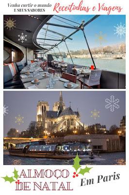 Onde passar Almoço de Natal em Paris