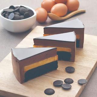 RESEPI CHOCOLATE BRULEE CAKE