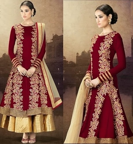 Velvet lehenga collection
