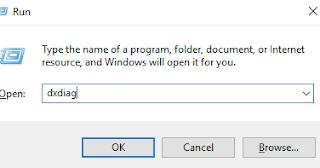 cara cek spesifikasi laptop tanpa aplikasi dengan directx