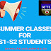 Summer Class for S1-S2 Students