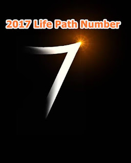 2017 Life Path Number 7 forecast Numerology