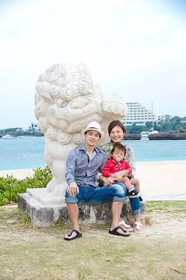 沖縄 家族写真 ロケーション 海