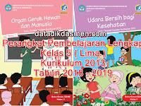 Perangkat Pembelajaran Lengkap SD Kelas 5 Kurikulum 2013 tahun 2018 - 2019