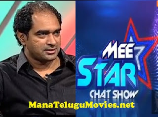 Director Krish in Mee Star Show