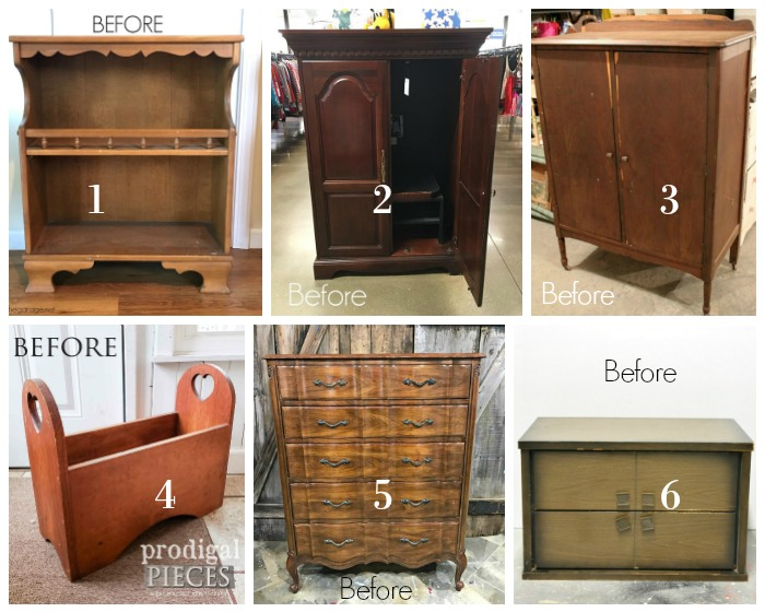 Furniture Fixer Upper Group December 2018 Furniture BEFORE