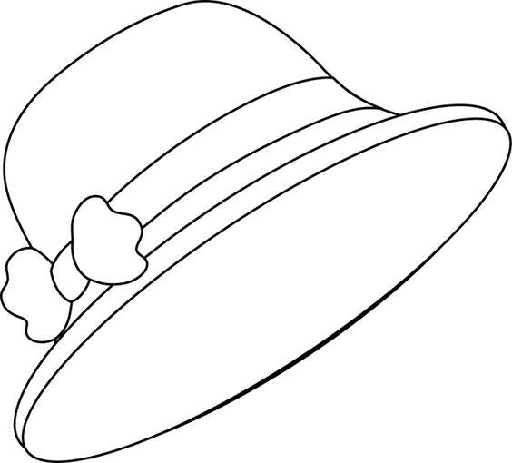 Tranh tô màu mũ gắn nơ