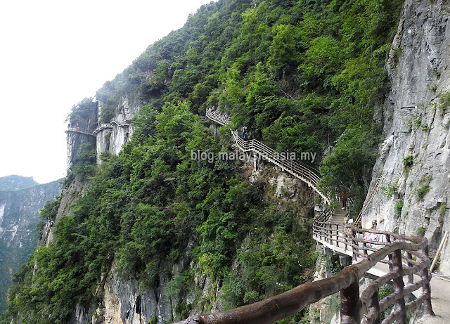 Chongqing Glass Cliff Walk China