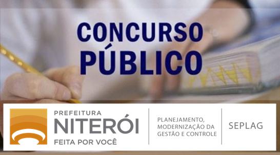 Seplag Niterói abre concurso 2018