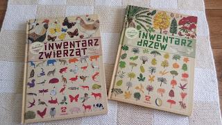 Inwentarz zwierząt i Inwentarz drzew recenzja książki o zwierzętach i drzewach