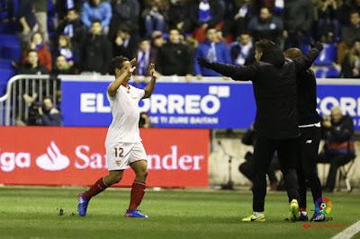Crónica Deportivo Alavés 1 - Sevilla FC 1