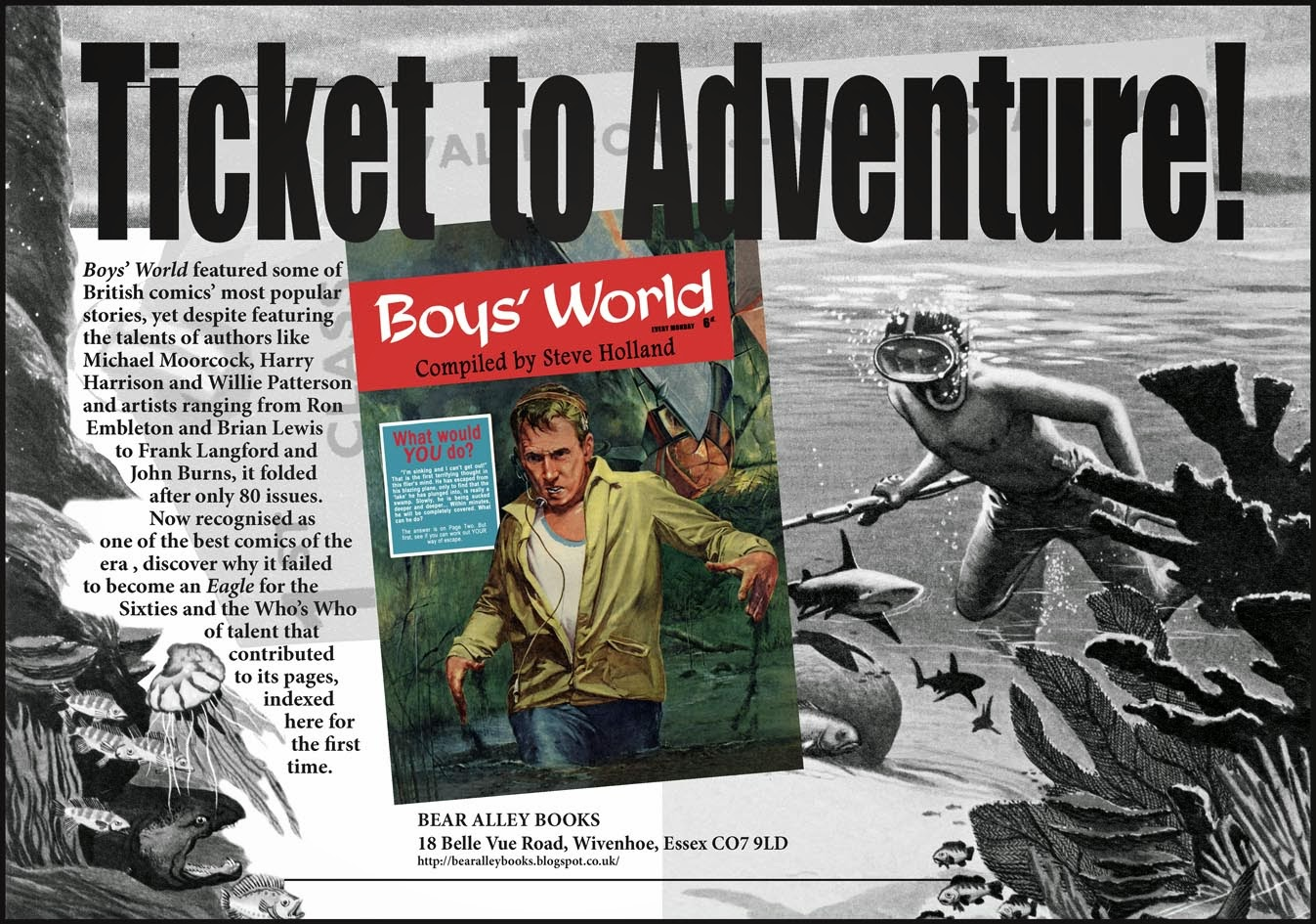 http://bearalleybooks.blogspot.co.uk/2013/08/boys-world-ticket-to-adventure.html