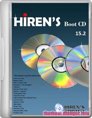 Download Hiren's BootCD 15.2 – Công cụ cứu hộ máy tính chuyên nghiệp