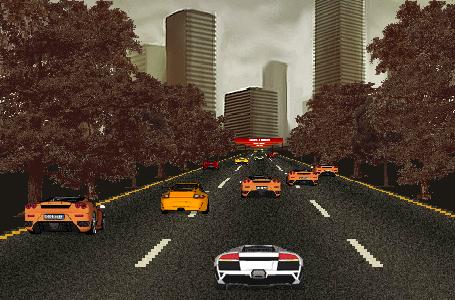 لعبة رالي السيارات الجديدة
