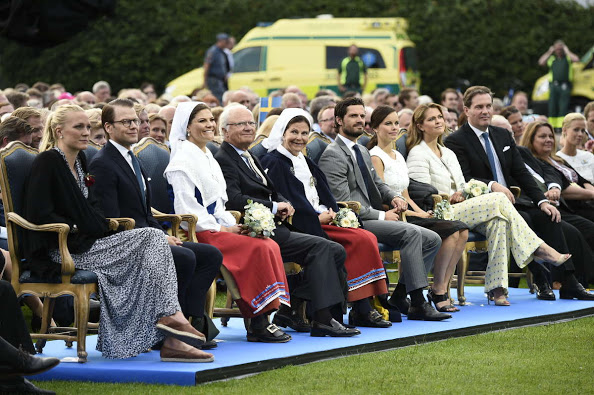 Swedish Royals Attend More Princess Victoria's Birthday Celebrations, A Concert At Borgholm