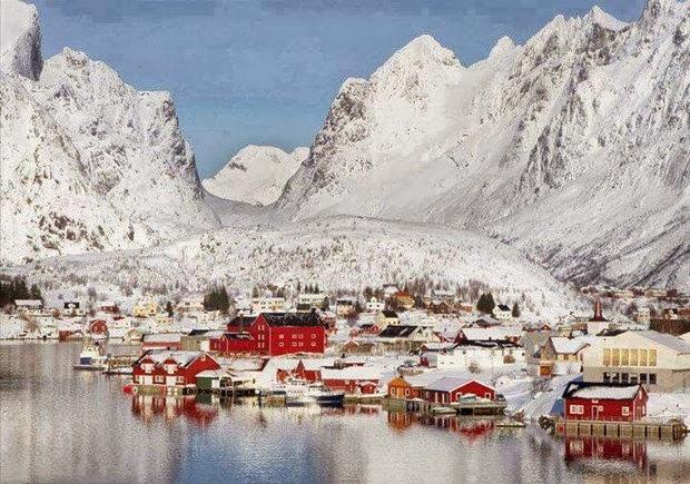 Santa Claus village - Reine in Norway