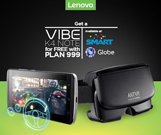 Lenovo Vibe K4 Note Smart and Globe