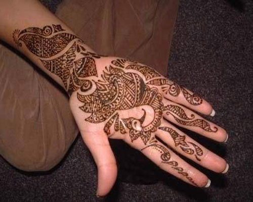 Latest Pakistani henna Mehndi Designs of 2013-14