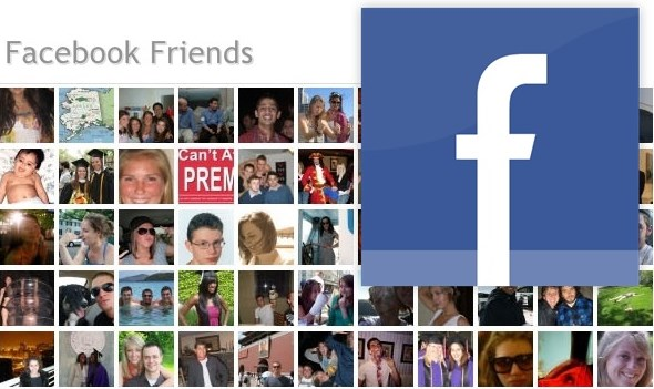 order of friends on facebook