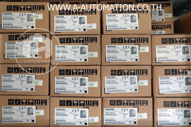 ขาย INVERTER TOSHIBA รุ่น VFNC3-2007P,0.75KW 200-240V 1แรง งานเบา 3PH ราคาถูก แถมส่วนลดไปอีก 15 % ที่ เอ ออโตเมชัน โทร.02-9444511