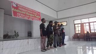 KNPB Wilayah Numbay Menolak Aneksasi 1 Mei 1963-2017