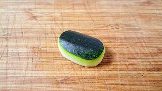 zucchini Volvendo xabón