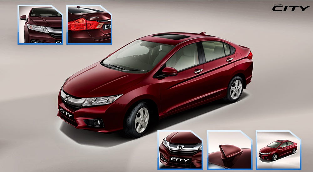 eksterior all new honda city