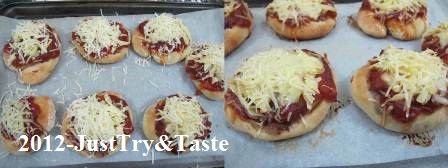 Obsesi Roti 16: Weekend ini? Pizza bun yang gurih dan super tasty!