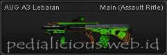 Senjata Point Blank AUG A3 Lebaran