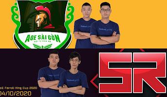 HeHe, Yugi vs. Gunny, Tú Xuất - AoE Ferroli King Cup 2020