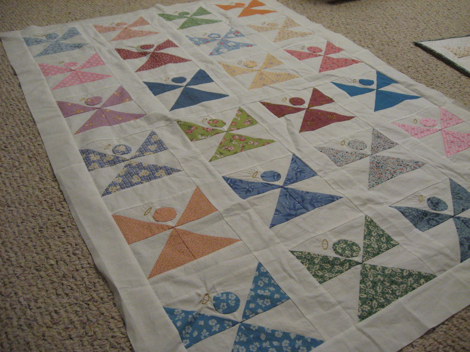 Wild Rose Pastures Roosters And Angel Quilt