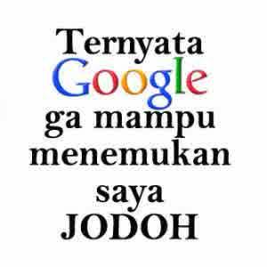 dp bbm lucu google cari jodoh