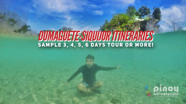 SAMPLE DUMAGUETE SIQUIJOR ITINERARY TRAVEL GUIDE BLOGS