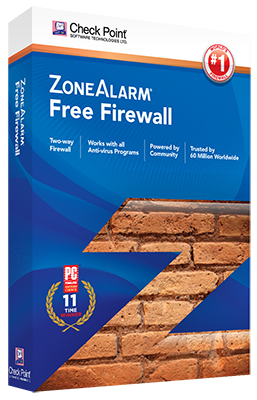 ZoneAlarm Free Firewall Box