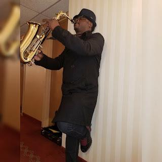 Mr muyiwa a saxophonist