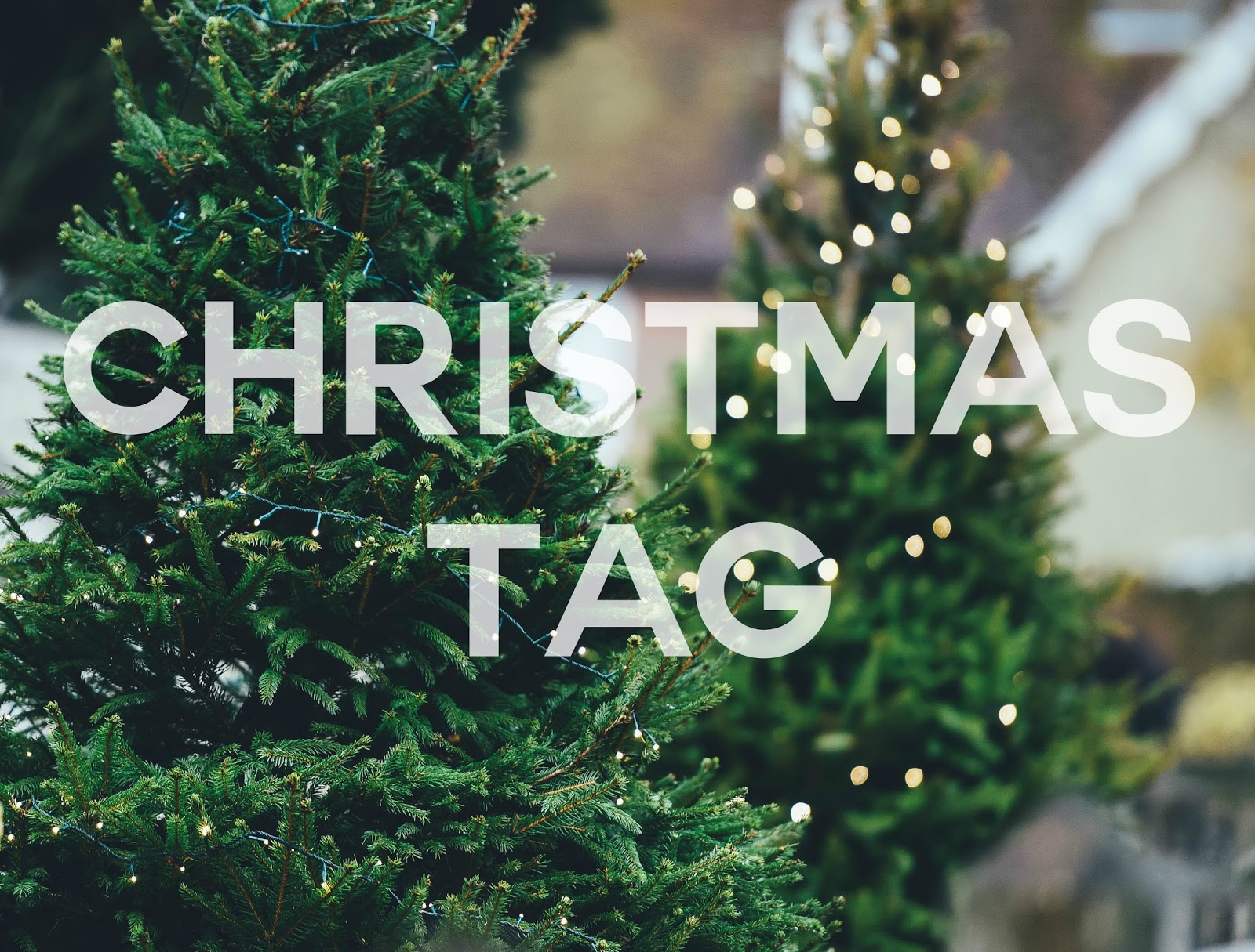 Christmas Tag Questions | Amy & Tots