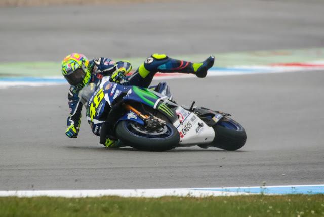 Rossi Berjanji Tidak Melakukan Kesalahan Lagi di Sachsenring