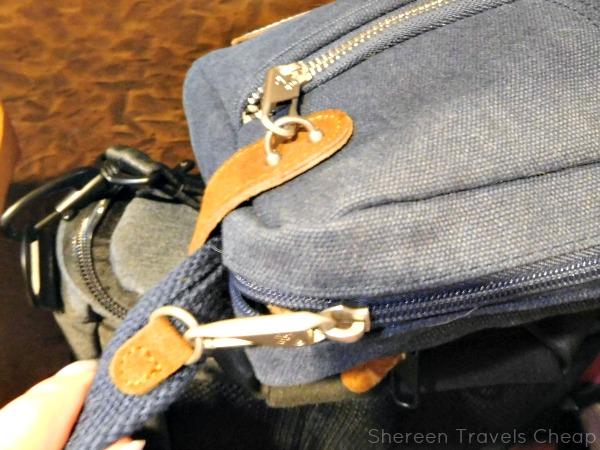 Review: Travelon's Anti-Theft Heritage Small Crossbody Bag