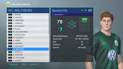 PES 2019 FBNZ Option File 2019 by Cristiano92